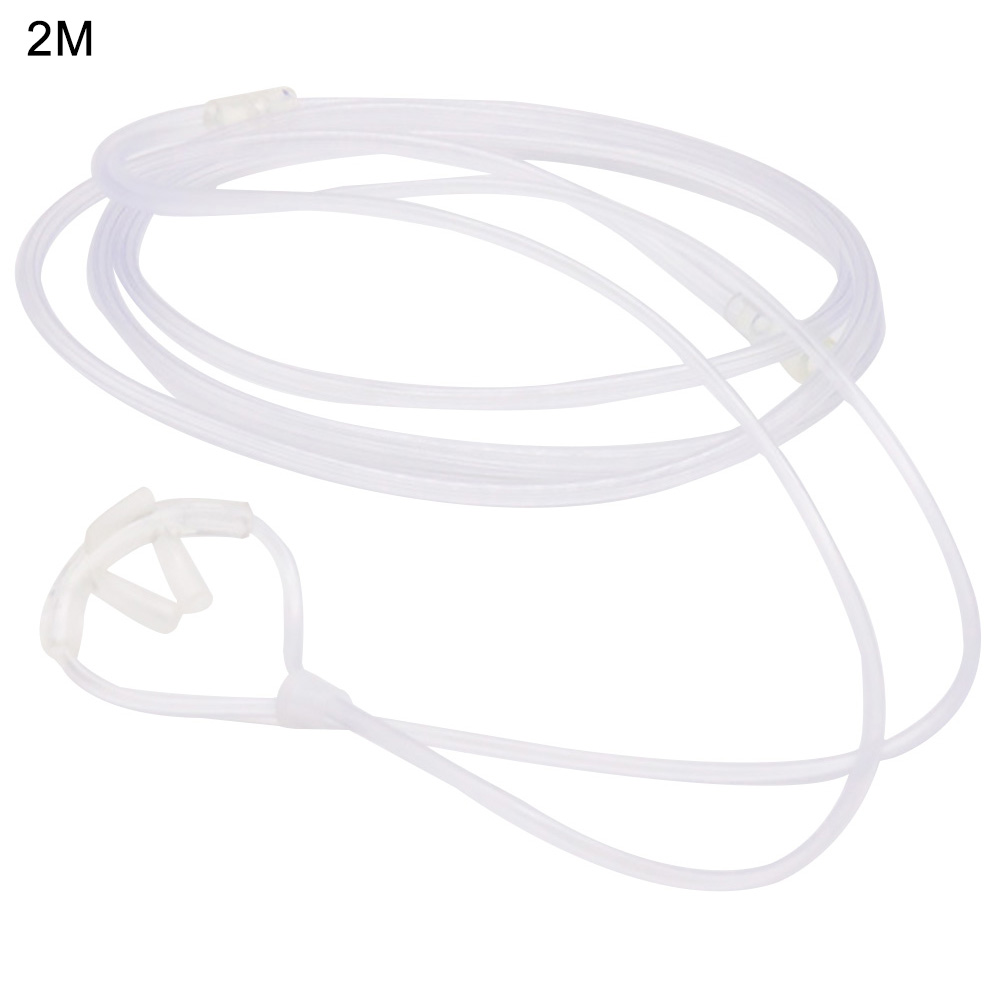 Health Care Nasal Cannula For Adult Dental Supply Oxygen Tube Adjustable Double Output Hospital Breathing Tool Transparent PVC