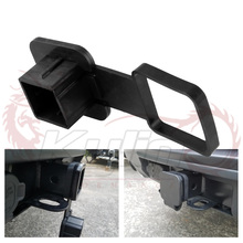 Trailer Hitch Plug Tube Cap Protector Insert Tow Trailer Hitch Cover Receivers Rubber Car Accessories for Jeep Chevrolet Nissan