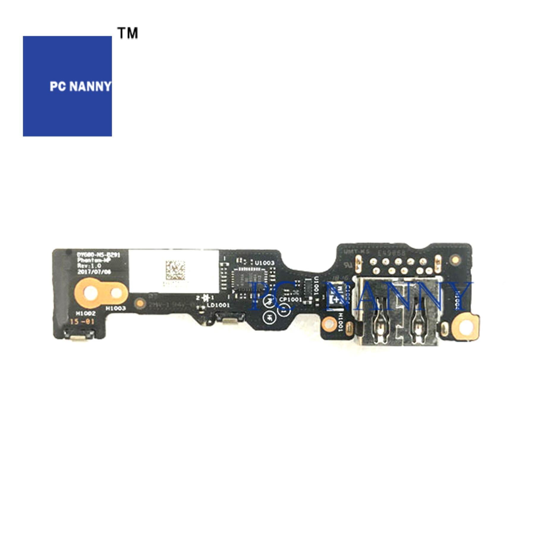 PCNANNY FOR Lenovo Yoga 920 920-13ikb Power Botton Switch USB  Board DYG60 NS-B291 DYG60 NF-B292 DA30000K030 CABLE Test Good