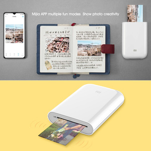 Image 5 - Xiaomi Mijia Ar Printer 313X400 Dpi Draagbare Foto Mini Pocket Met Diy Delen 500Mah Foto Printer Pocket printer