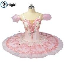 цена на Sugar Plum Fairy Pancake Tutu Skirt  pink ballet tutu  performance adult girl  ballerina stage costumes BT9055