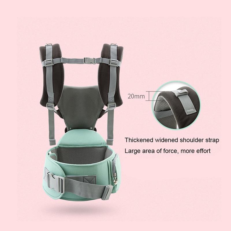 Disney breathable front baby bag Hipseat baby comfort strap backpack bag wrap carrier kangaroo strap front carrier ergonomic