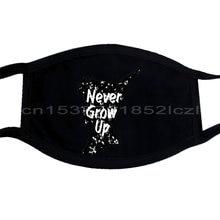 Máscaras de Donna Mai Crescere Peter Pan Idéia Regalo Casual Cool Criativo Máscara homens Unisex Nova Moda Máscara Máscaras de Tamanho Solto ajax;