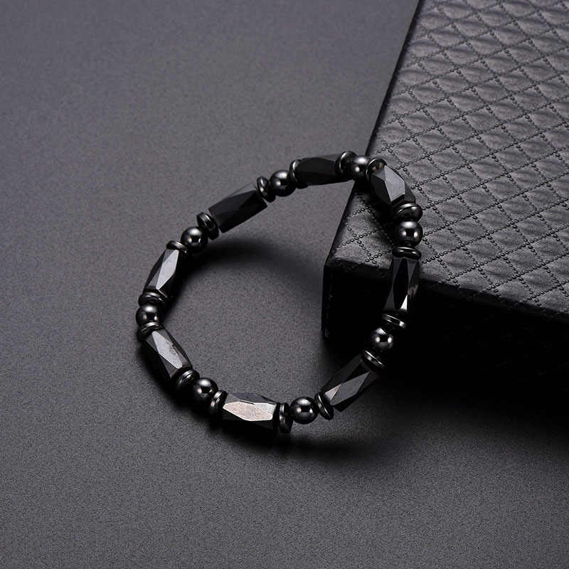Bijih Besi Pesona Gelang Pria Energi Positif Hematit Gelang Wanita Batu Alam Beruntung Gelang Perhiasan Hari Valentine Hadiah