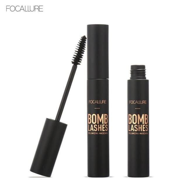 FOCALLURE – Mascara 4D en Fiber de soie, extensions de cils, noir, épais, allongés, cosmétiques pour les yeux
