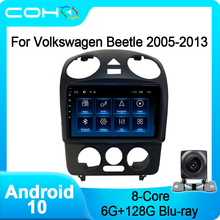 COHO Für Volkswagen Vw Käfer 2005-2013 Gps Navigation Auto-Player Radio Android 10,0 8-Core 6 + 128G