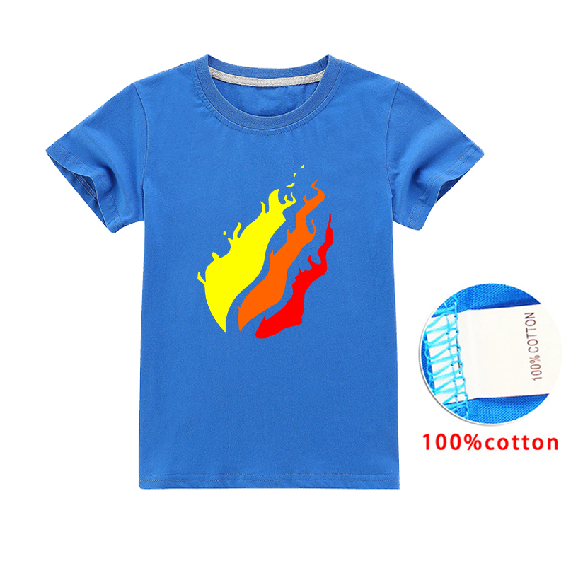 Kids Clothes Girls 8 To 12 2020 Summer T Shirt for Children Big PRESTONPLAYZ Colour 3d Printed Preston Tops Baby Boys image