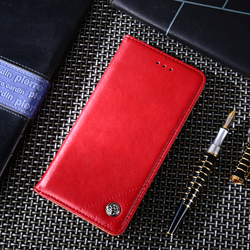 На Алиэкспресс купить чехол для смартфона business wallet flip cover for huawei y7 2019 y6 2019 honor 7 8 9 luxury leather wallet phone case honor v9 v10 v20 flip coque