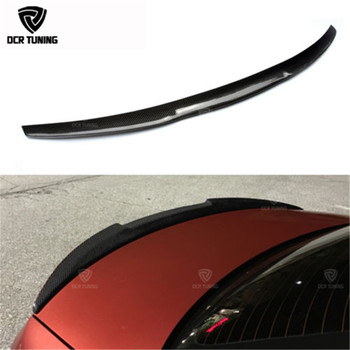 M4 Style For BMW E92 Spoiler 3 Series 2 Door M3 Coupe Carbon 2005 - 2012 Fiber rear wing - discount item  29% OFF Auto Replacement Parts