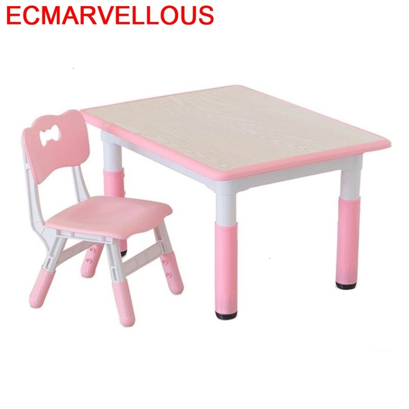 And Chair Pupitre Baby Avec Chaise De Estudio Kindergarten Study For Kids Mesa Infantil Kinder Bureau Enfant Children Table
