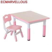 And Chair Pupitre Baby Avec Chaise De Estudio Kindergarten Study For Kids Mesa Infantil Kinder Bureau Enfant Children Table
