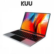 Kuu todo o metal 13.5 Polegada 3k ips tela intel pentium quad core portátil impressão digital bloqueio backlit win10 estudante escritório notebook