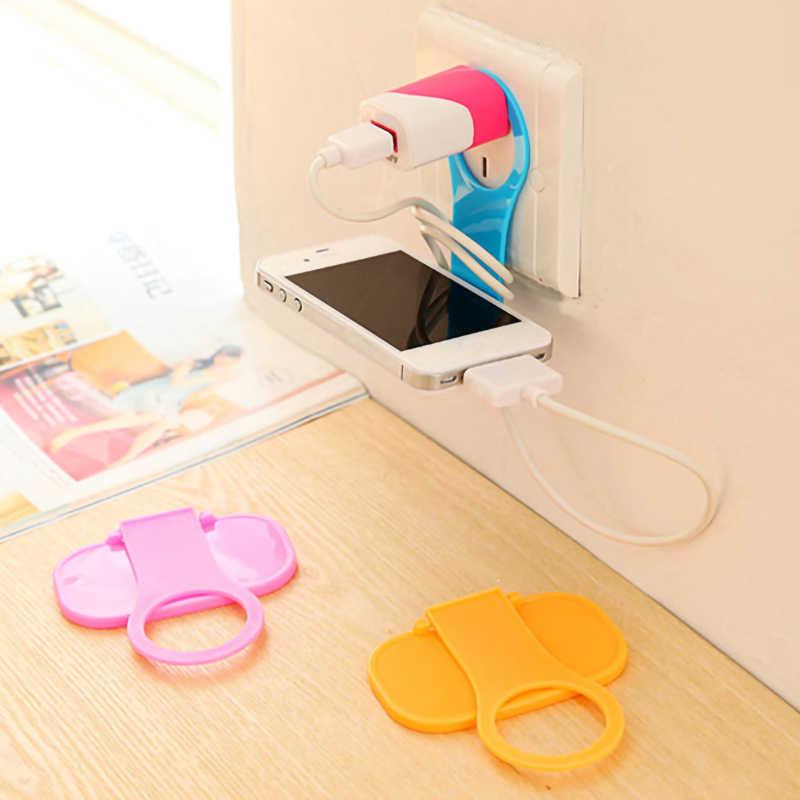 Creatieve Draagbare Multifunctionele Gel Kabelhaspel Usb Unisex Beveiliging Telefoon Houder Accessoire Packe Organizer Travel Accessoires