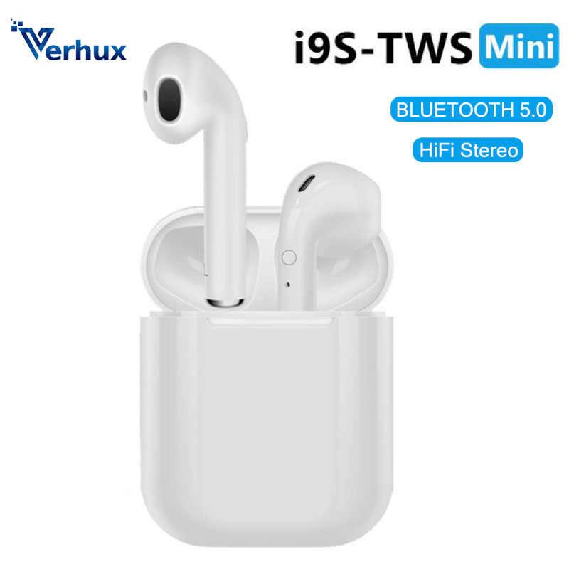 I9s tws Bluetooth наушники, мини наушники, беспроводные наушники, Спортивная bluetooth-гарнитура с зарядным устройством, микрофон для смартфона