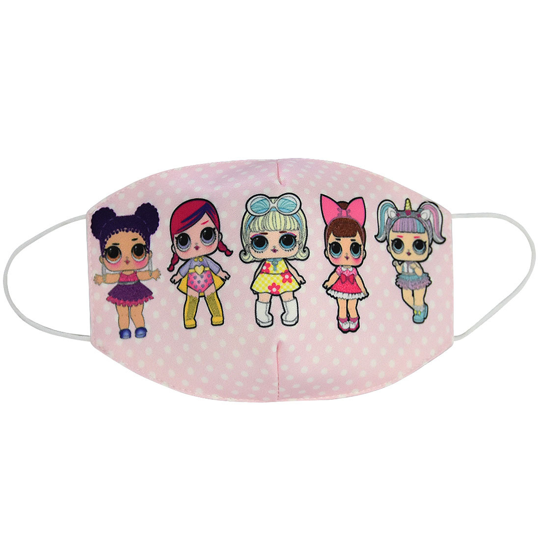 Cartoon Printed Masks Made Of Pure Cotton Material For Men And Women 1