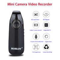 Boblov 007 мини цифровая камера HD камера для правоохранительных органов Магнитная камера для тела камера для обнаружения движения циклическая ...