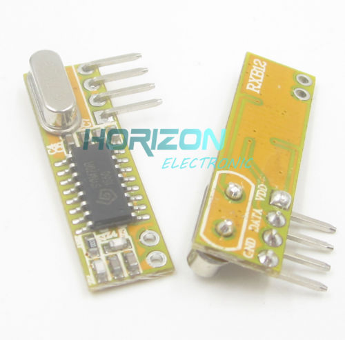 2PCS RXB12 433Mhz Superheterodyne Wireless Receiver Precise for Arduino//AVR