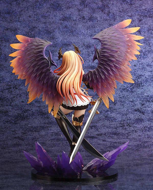 Action Figure Kejadian Dark Angel Olivia Anime Model Model Boneka Dekorasi Klasik Koleksi Figurine Anak-anak Mainan untuk Hadiah 28 Cm