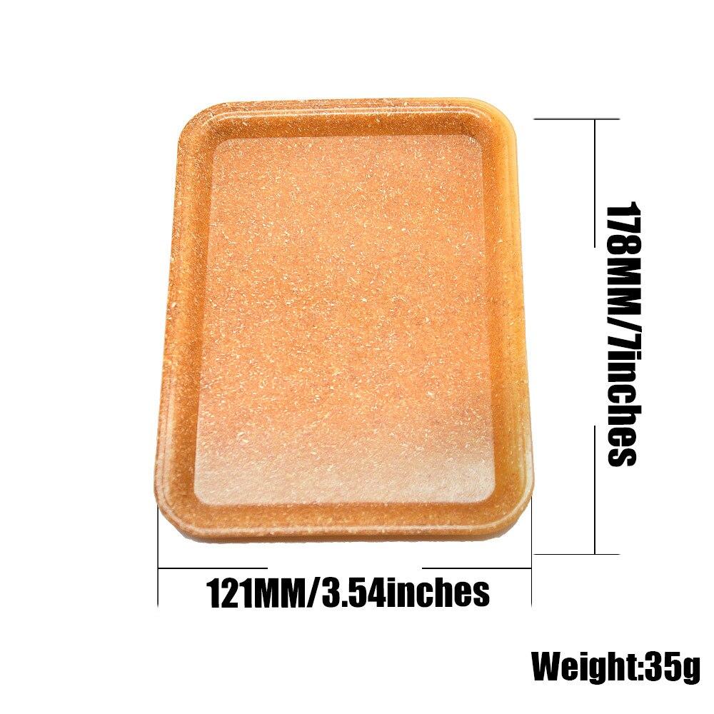 1 шт. сигареты Управление Панель Многофункциональный Пластик белье прямоугольный поднос для хранения канцтоваров из организовать поднос плодоовощ-1