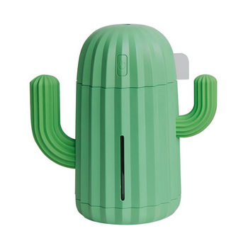 1PCS Desktop Set Cactus Humidifier Small rechargeable air office desktop household mute humidifier Office Supplies