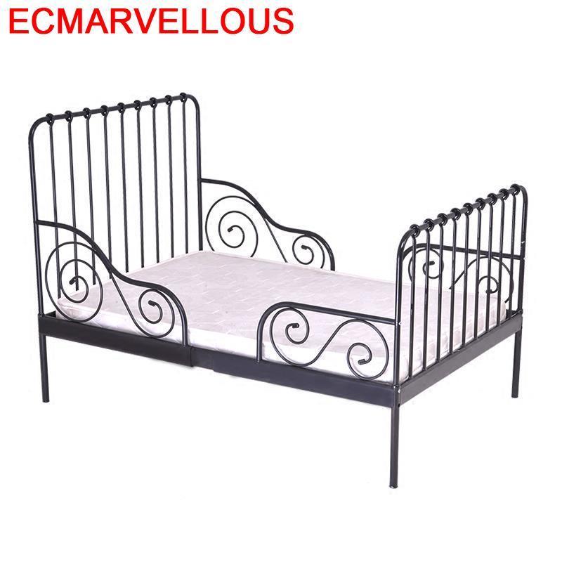 Fille Children's Girl Cameretta Bambini Lozko Dla Dziecka For Baby Furniture Adjustable Lit Chambre Enfant Kinderbett Kid Bed