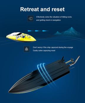 Auto Lure Fishing inteligentny pilot łódź z przynętą zabawka 2020 pilot radiowy Twin Motor Fishing Finder łódź łódź wyścigowa zabawki tanie i dobre opinie CN (pochodzenie) Z tworzywa sztucznego about 8-10 minutes 3 7 650mAh battery 120 minutes 2 4G 120-150m Mode1 Electric 4 kanałów
