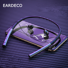 EARDECO מקורי רטט ספורט Bluetooth אוזניות אוזניות סטריאו אלחוטי אוזניות אוזניות כבד בס אוזניות עם מיקרופון