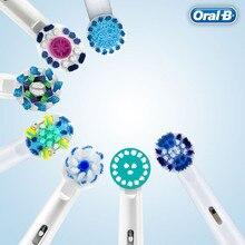 Для Электрическая вращающаяся зубная щетка Oral B электрические зубные щётки головок высокое качество сменные насадки для зубной щетки 8 шт./у...