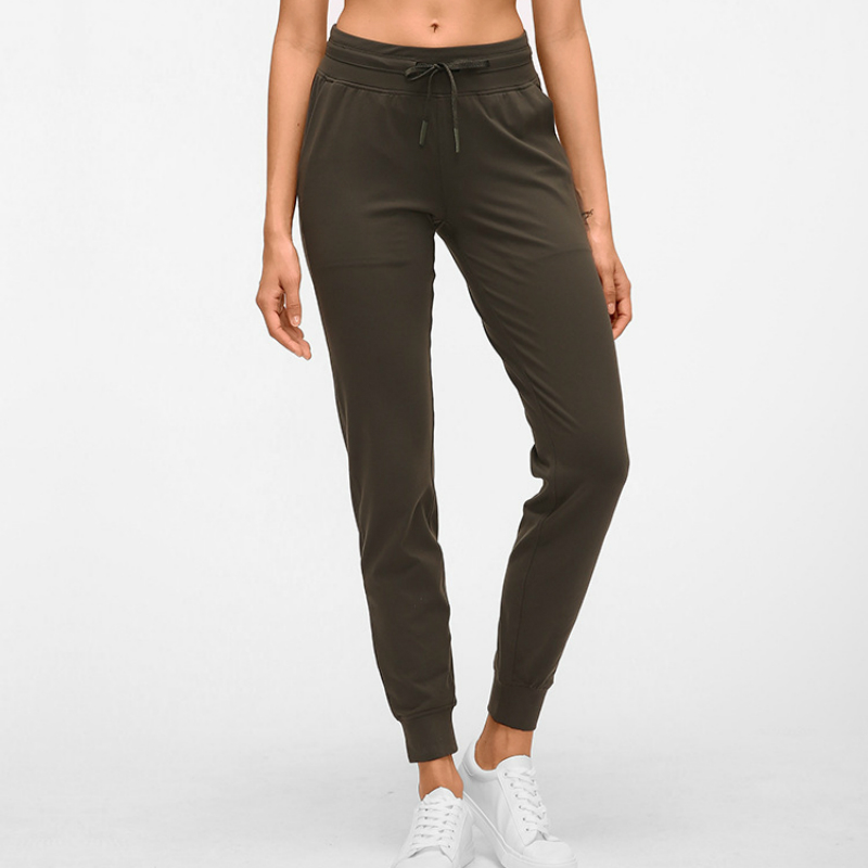 Nepoagym Sweatpants Joggers Pocket Sports-Wear Workout Running Womens with