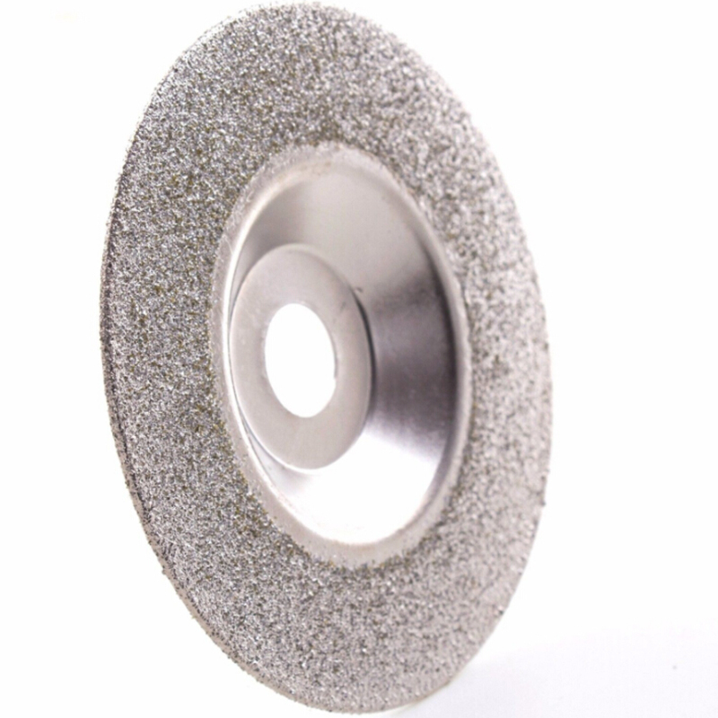 Diamond Coated Grinding Discs 4inches 60Grit Polisher Grinder Disc Wheel Angle Grinder Coarse Glass Wheel Disc