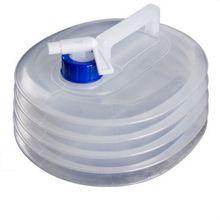 Ведро для воды Прозрачный выдвижной складной портативный органайзер, контейнер для хранения аксессуаров для наружного кемпинга вождения