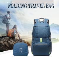 35L Ultralight Backpack Foldable Packable 839 Nylon Sport Bag for Outdoor Travel Camping Hiking Cycling with Pouch Climbing Bags    -