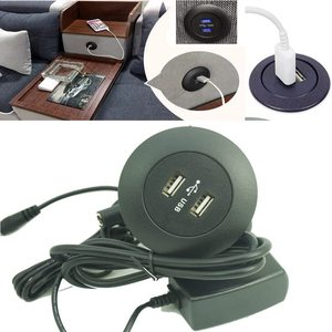 110V / 240V Power Socket Dual USB Phone Charging Ports - for Ease Power Recliner Chair Electric Sofa Okin Limoss Lift Chair Char