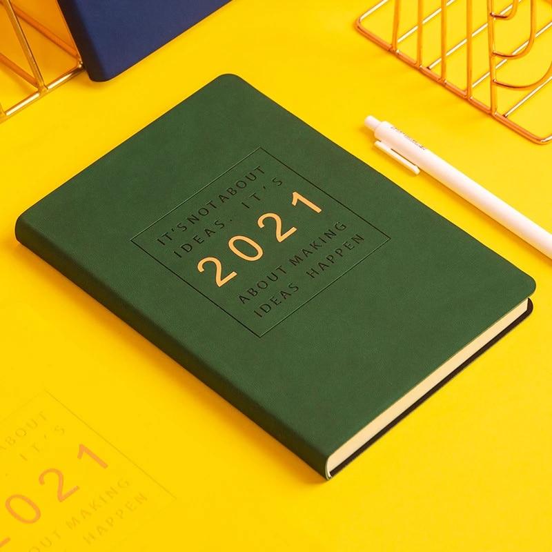 2021 Planner Organizer Notebook Agenda Diary Journal Weekly Daily Plan Calendar