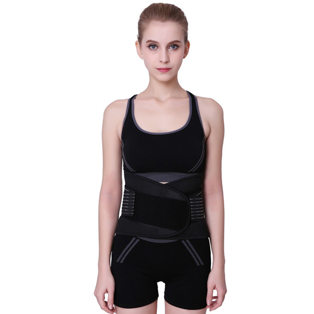 Women Adjustable Elstiac Waist Support Belt Neoprene Faja Lumbar Back Sweat Belt Fitness Belt Waist Trainer Heuptas For Sports 3