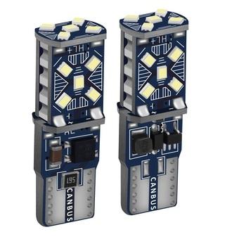 2 sztuk T10 W5W nowy Super jasne LED światła parkowania samochodu WY5W 168 501 2825 Auto Wedge Turn Side żarówki wnętrza samochodu czytanie lampa kopułkowa tanie i dobre opinie Jaubournica CN (pochodzenie) Światła obrysowe 800lm T10 (W5W 194) 12 v Niebieski Uniwersalny 3030