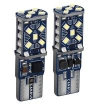 2 sztuk T10 W5W nowy Super jasne LED światła parkowania samochodu WY5W 168 501 2825 Auto Wedge Turn Side żarówki wnętrza samochodu czytanie lampa kopułkowa tanie tanio Jaubournica CN (pochodzenie) Światła obrysowe 800lm T10 (W5W 194) 12 v Niebieski Uniwersalny 3030