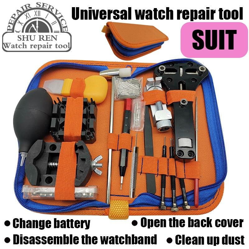 Montre outils ouvreur ressort dissolvant barre réparation levier tournevis montre réparation outil outils horloger pièces