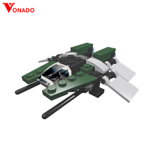 Vonado Star Wars Series Spaceship Storm Fighter Microfighters AT-ST Diy Building Blocks Bricks Creative Toys 10893 10894 цена 2017