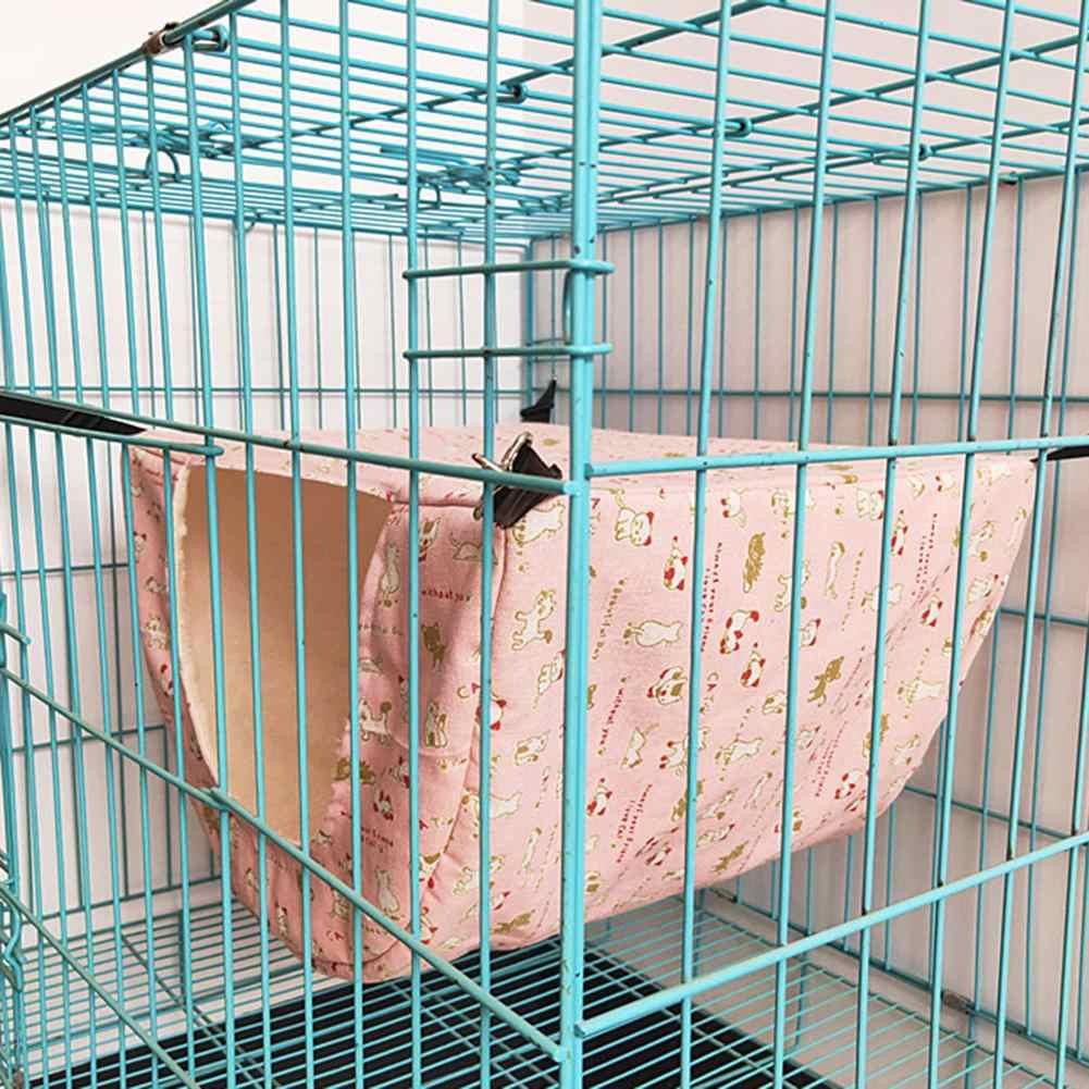 Pet Tergantung Tempat Tidur Tempat Tidur Gantung Kandang Hamster Tempat Tidur Gantung untuk Guinea Babi Musang Chinchilla Landak Tupai Kelinci Hewan Peliharaan Kecil