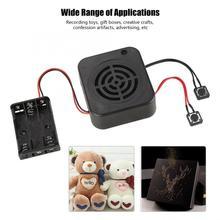 3 w diy 음성 녹음 상자 메시지 상자 모듈 박제 동물/선물/장난감/광고에 대 한 명확한 소리