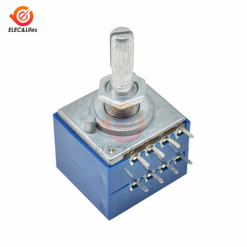 1PCS potentiomètre 50K log ALPS Audio AMP Contrôle Volume Pot Stéréo W Contour M