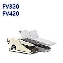 صمام التحكم بالهواء المضغوط صمام الهواء FV420 التبديل صمام قدم 4F210 08 دواسة القدم 320 صمام أسطواني دواسة القدم الهوائية