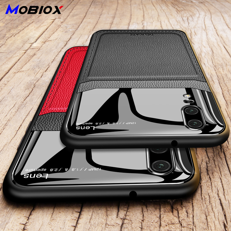 Mirror Leather <font><b>Phone</b></font> <font><b>Case</b></font> Cover For Huawei P20 <font><b>P30</b></font> Mate 20 lite Pro Mate 30 Pro Mate 20X Business Luxury <font><b>Case</b></font> Cover image