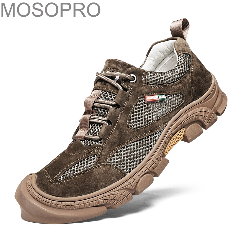 MOSOPRO Sandals Man Beach Shoes Aqua Summer Hiking Sneakers Breathable Outdoor Climbing Shoes Trekking Men Quick-dry Shoes FJT43