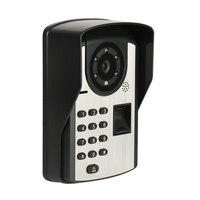 Fingerprint Passwort Fernbedienung Video Tür Telefon Türklingel Intercom Fernbedienung Entsperren Video Intercom Regendicht Nacht Visi-in Türklingel aus Sicherheit und Schutz bei