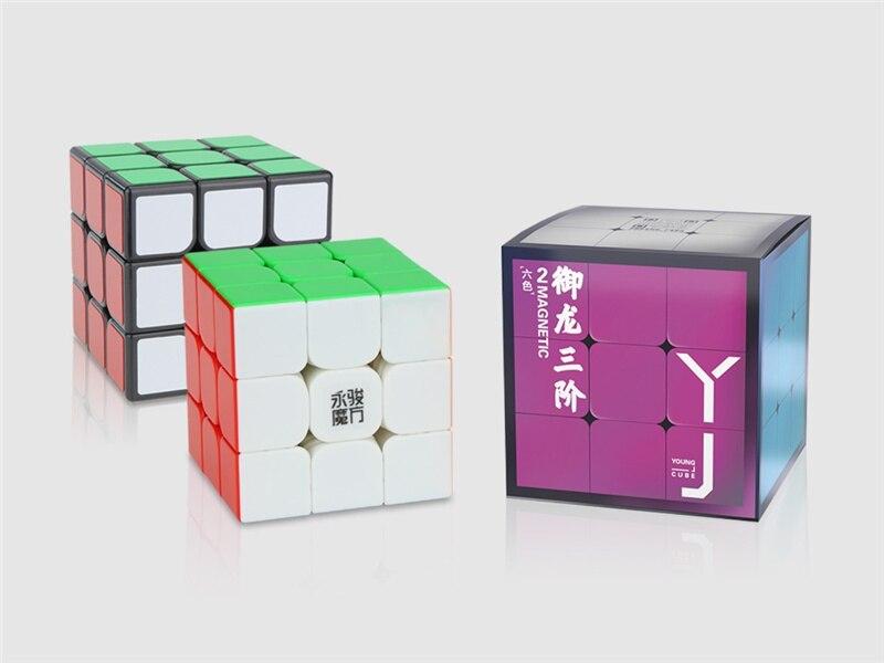 m 3x3x3 cubo magico magnetico profissional yulong 05