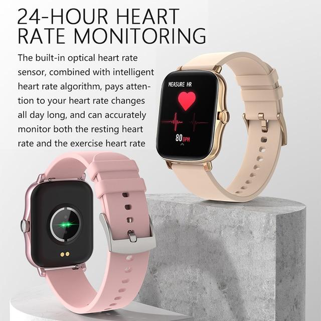 Full Touch Y20 Sport Smart Watch Men Women IP68 custom dial Heart Rate Fitness Tracker Smartwatch wristwatch GTS 2 P8 plus 3