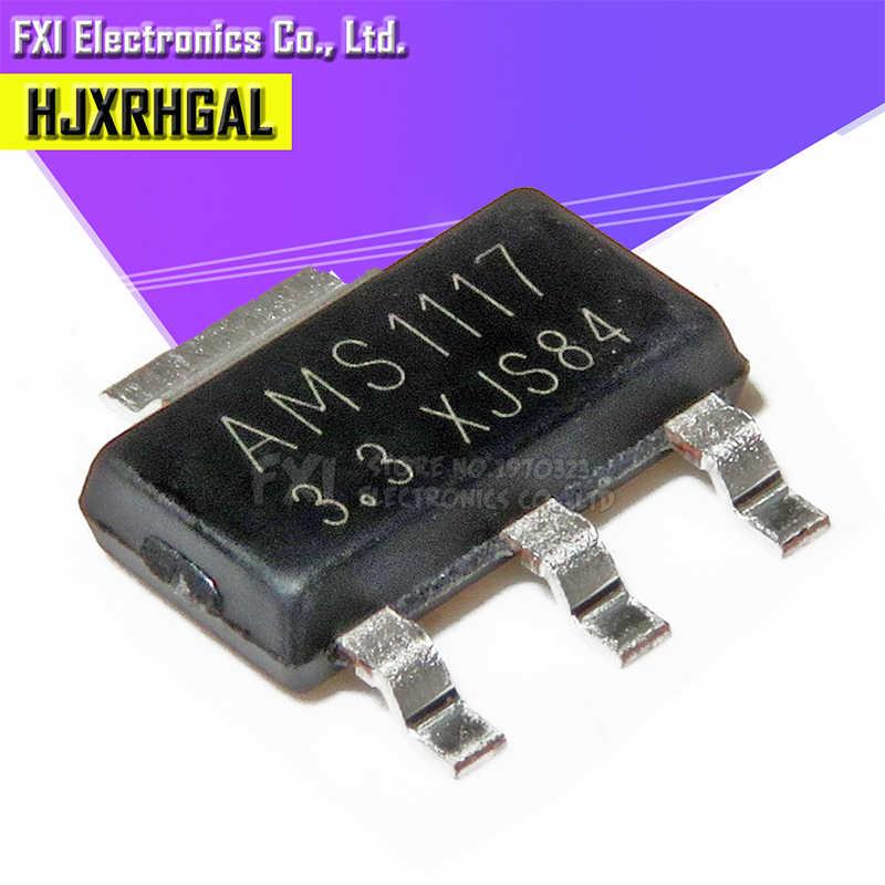 5pcs AMS1117-3.3 LM1117 3.3V 1A SOT-223 Voltage Regulator UK SELLER