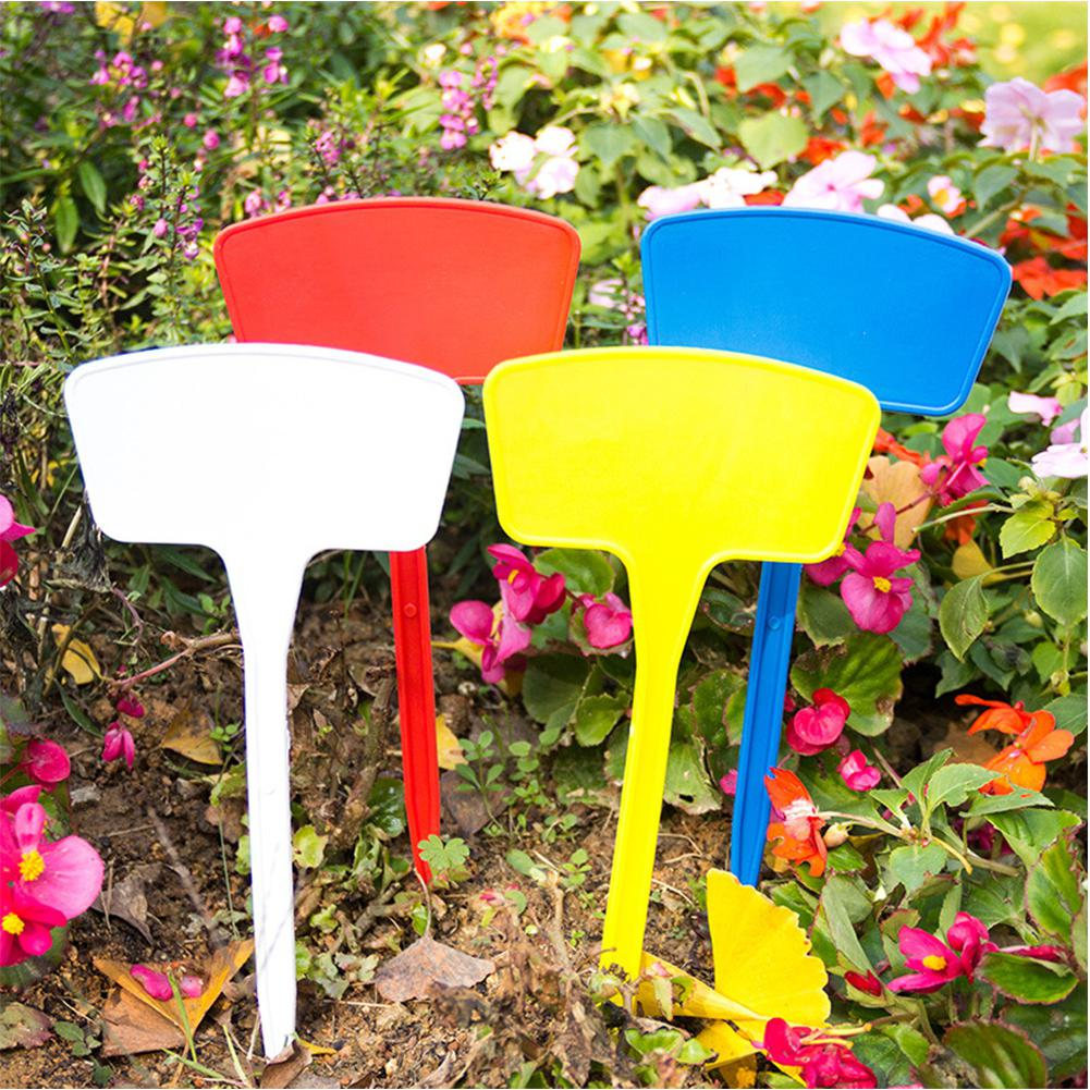 LanLan Garden Labels Gardening Plant Classification Sorting Sign Tag Ticket Writing Plate Board